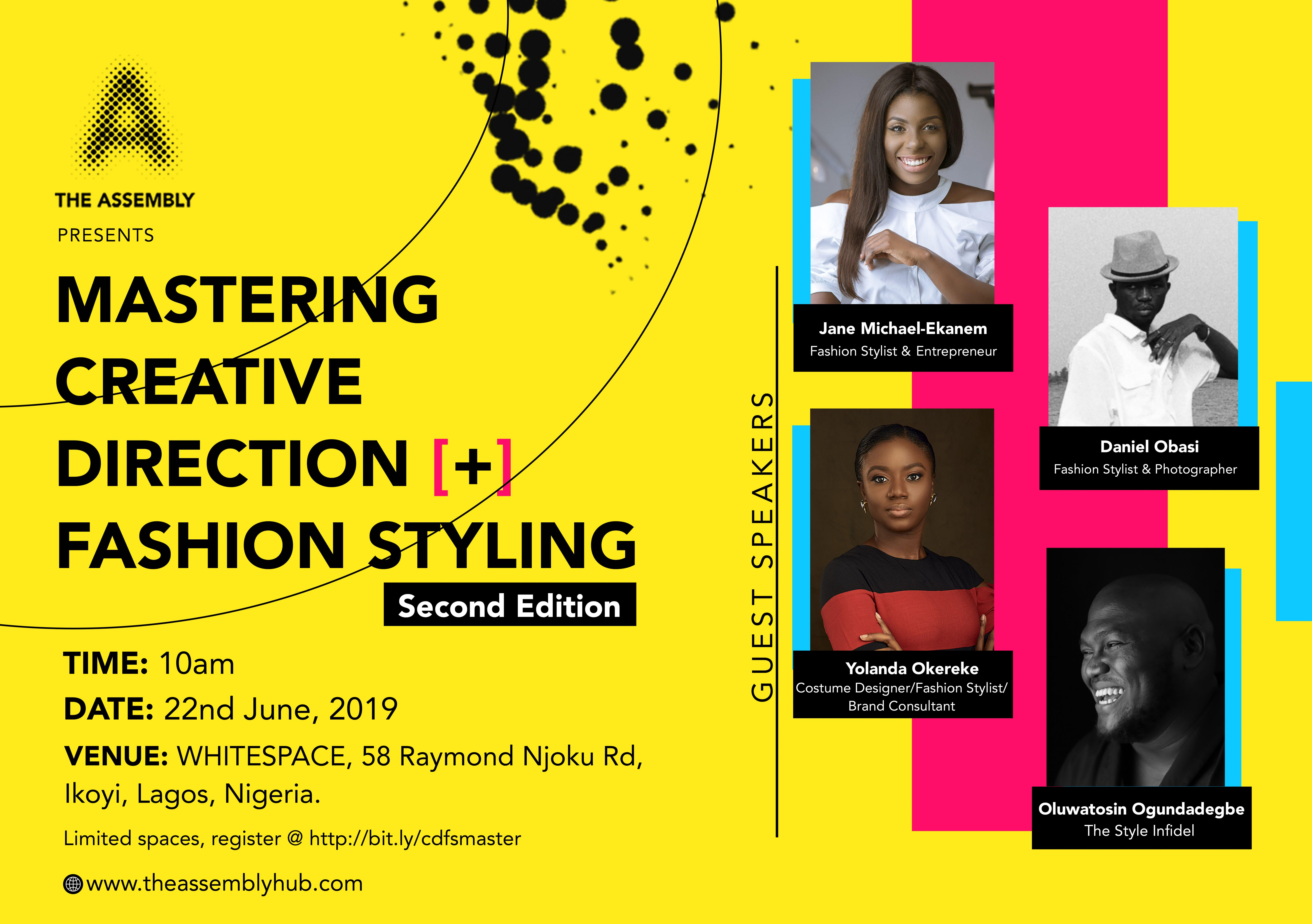 Mastering Creative Direction + Fashion Styling II