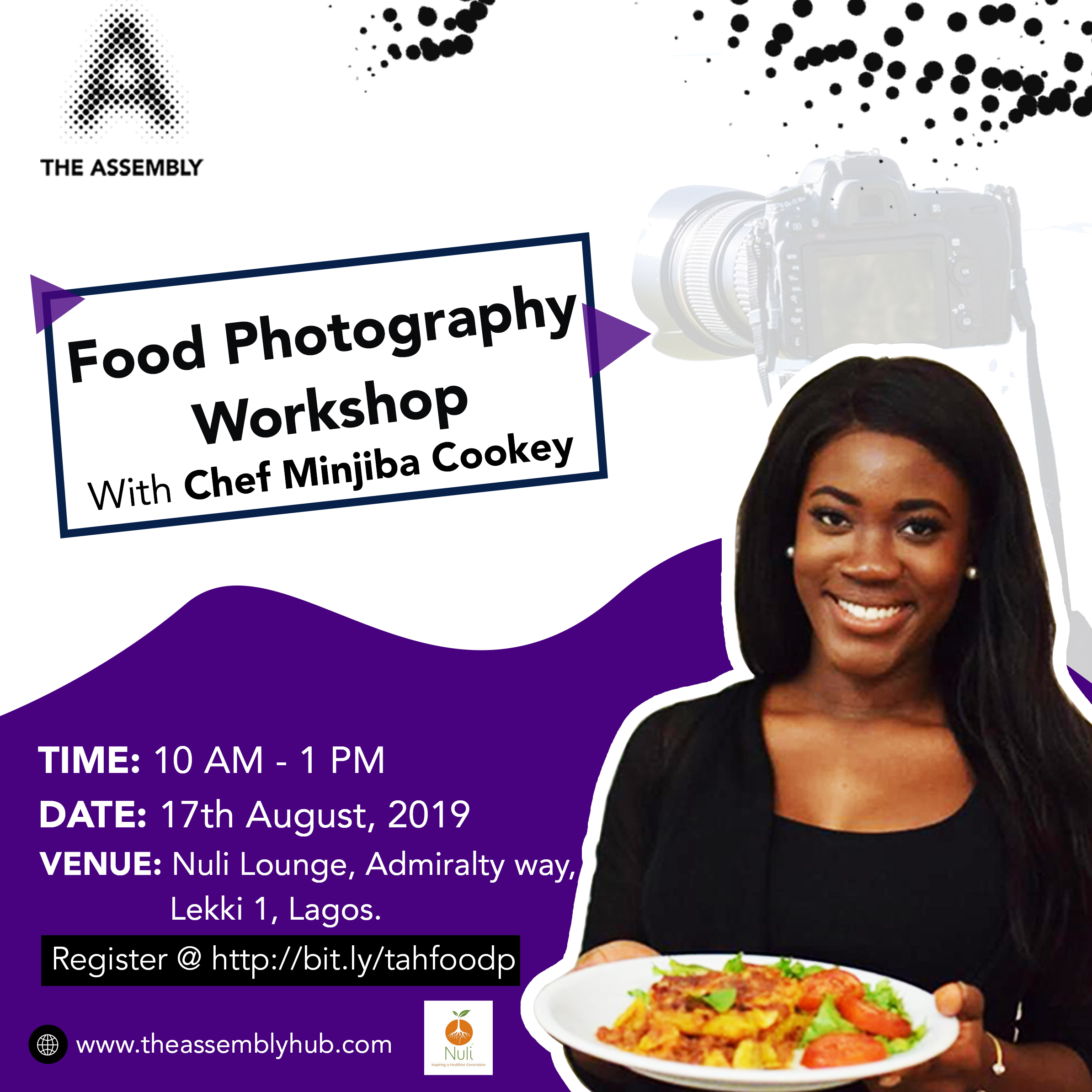 The Assembly Hub Food Photography Workshop